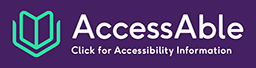 AccessAble purple logo