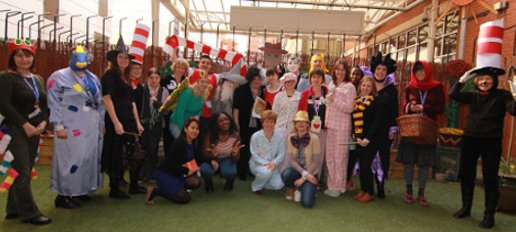 Hospital School - Team in fancy dress