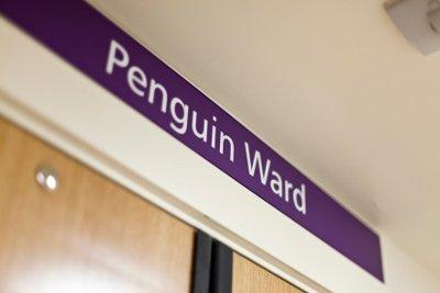Penguin Ward signage
