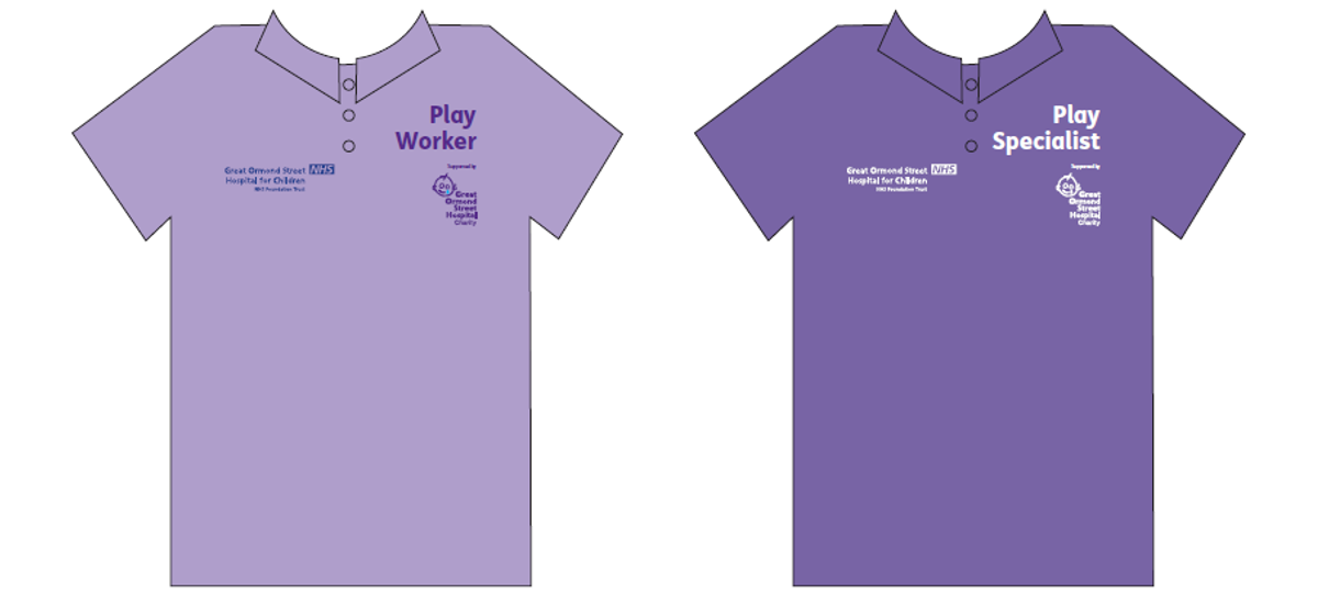 Play Worker and Play Specialist uniforms