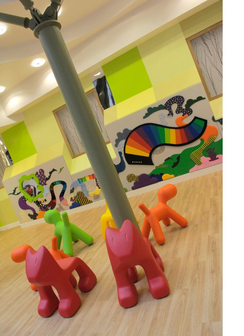 Somers CRF toys in play area