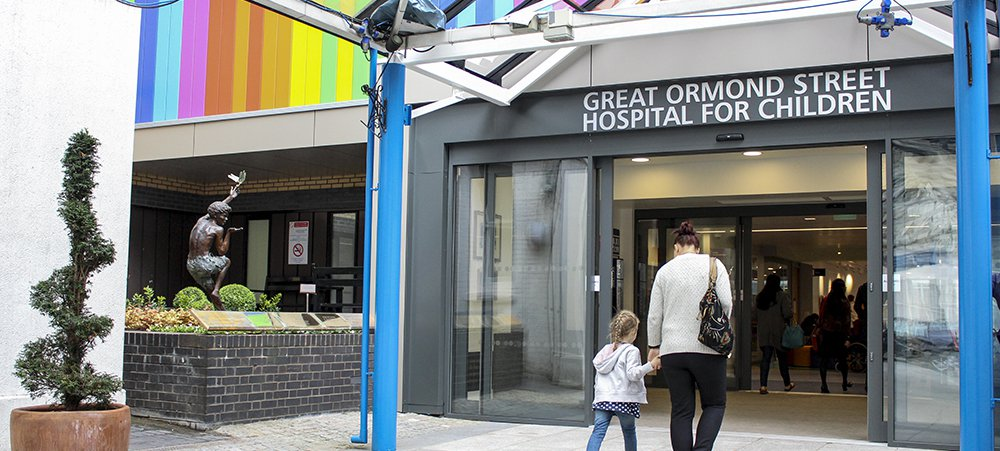 Great Ormond Street Hospital main entrance
