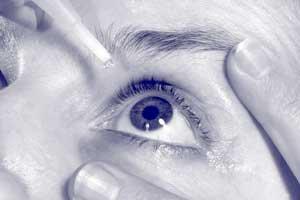 How do I put in eye drops?