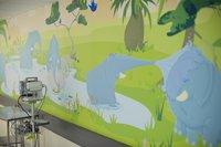 Artwork on Elephant Ward