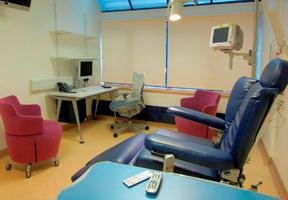 Somers Clinical Research Facility clinical room