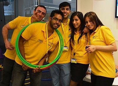 Volunteers at GOSH