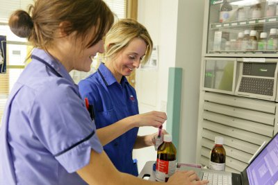 Nurses in our Cardiac Intensive Care Unit