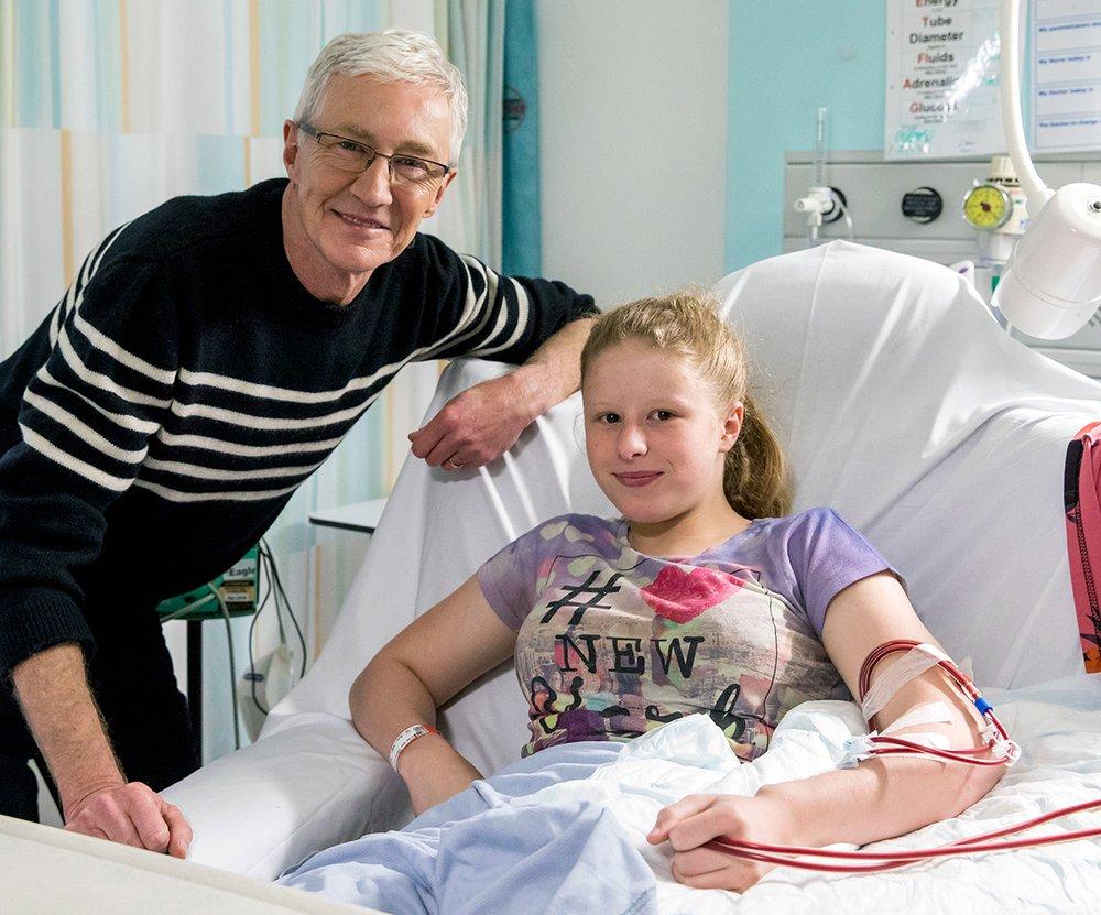 Patient Sarah with Paul
