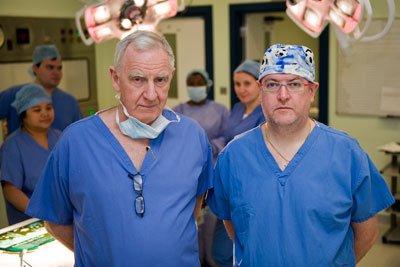 Edward Kiely and Joe Curry, Consultant Paediatric Surgeons