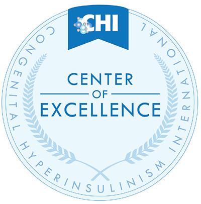 Congenital Hyperinsulinism International Center of Excellence Logo