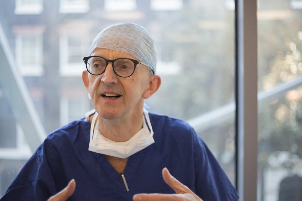 Mr Dominic Thompson, Consultant Neurosurgeon