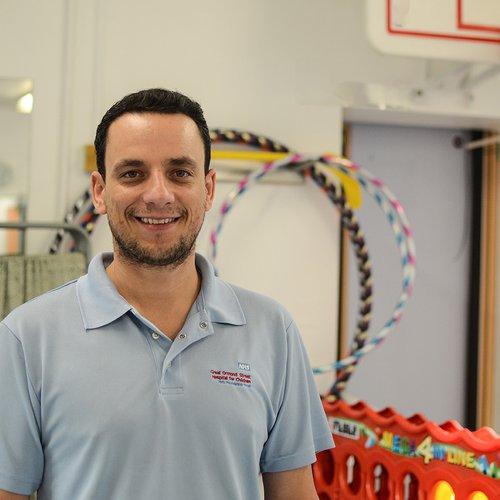 Physiotherapist Jose Longato