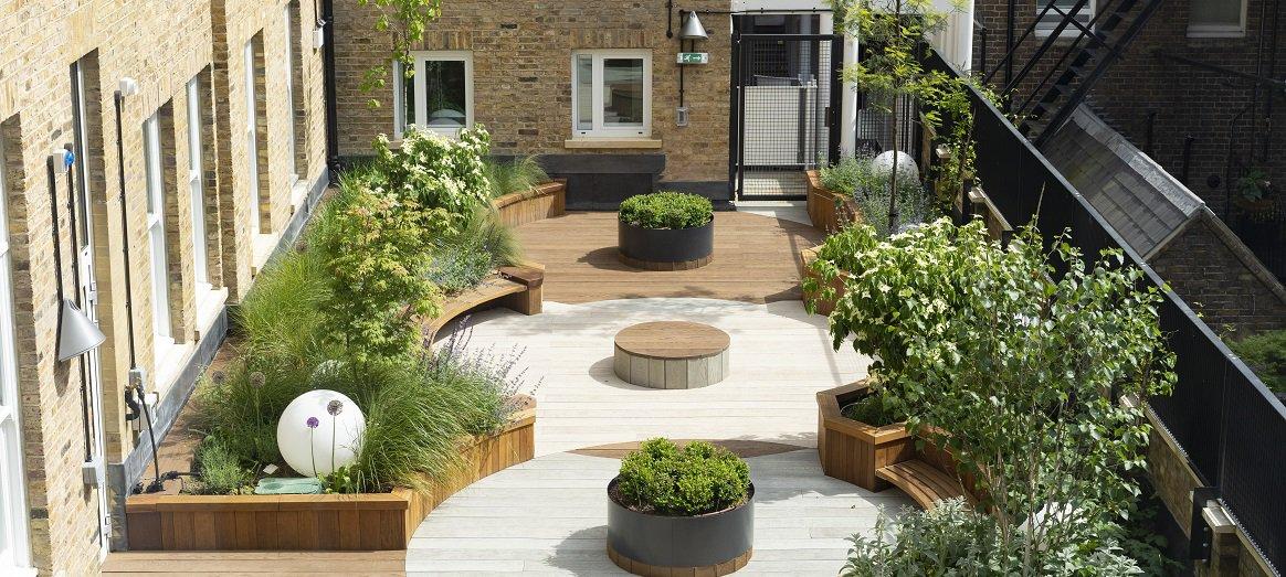 Sight and Sound Centre Garden