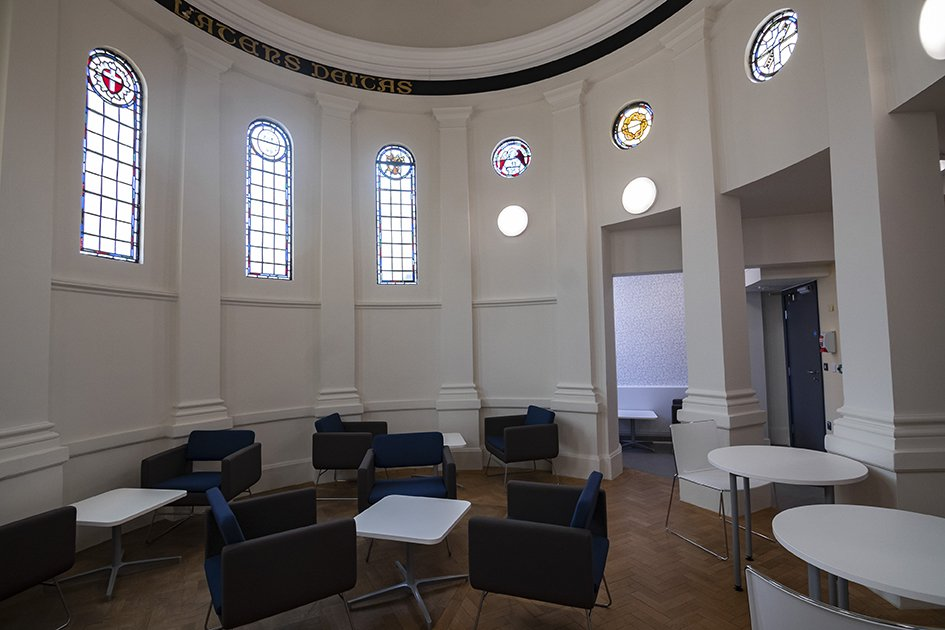 Sight and Sound Centre old chapel