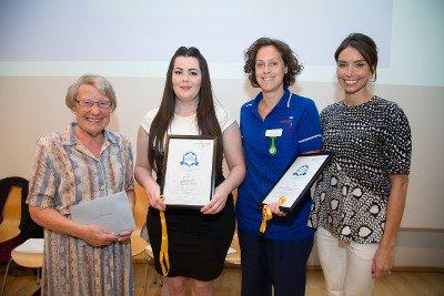 Gwen Kirby Awards - Eleanor Tyrrell and Rose Mahoney