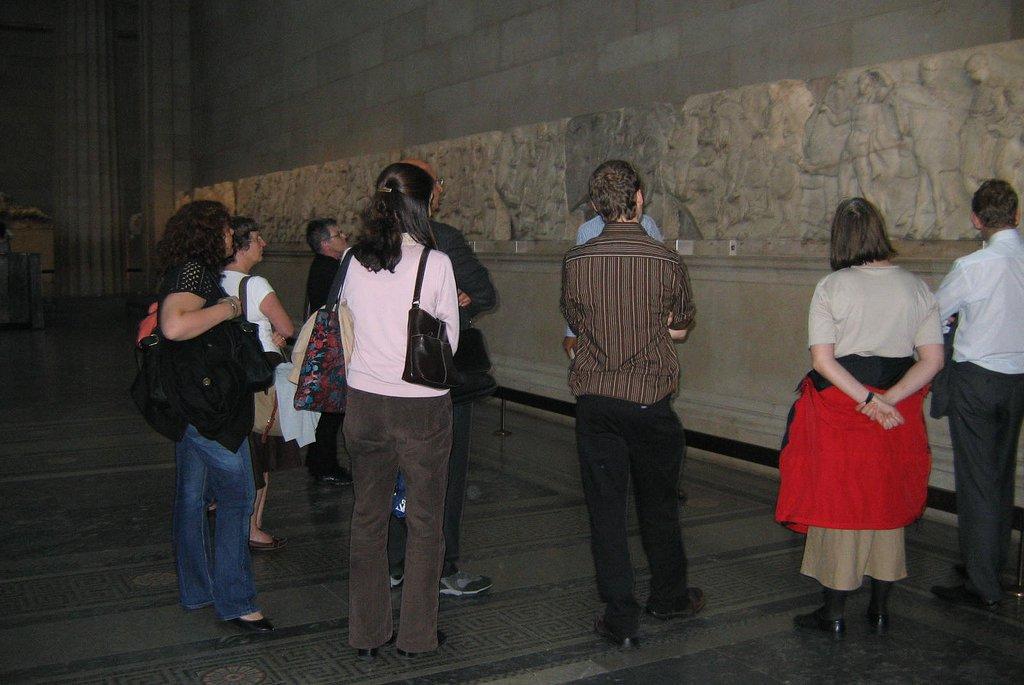 Culture club visit at BM
