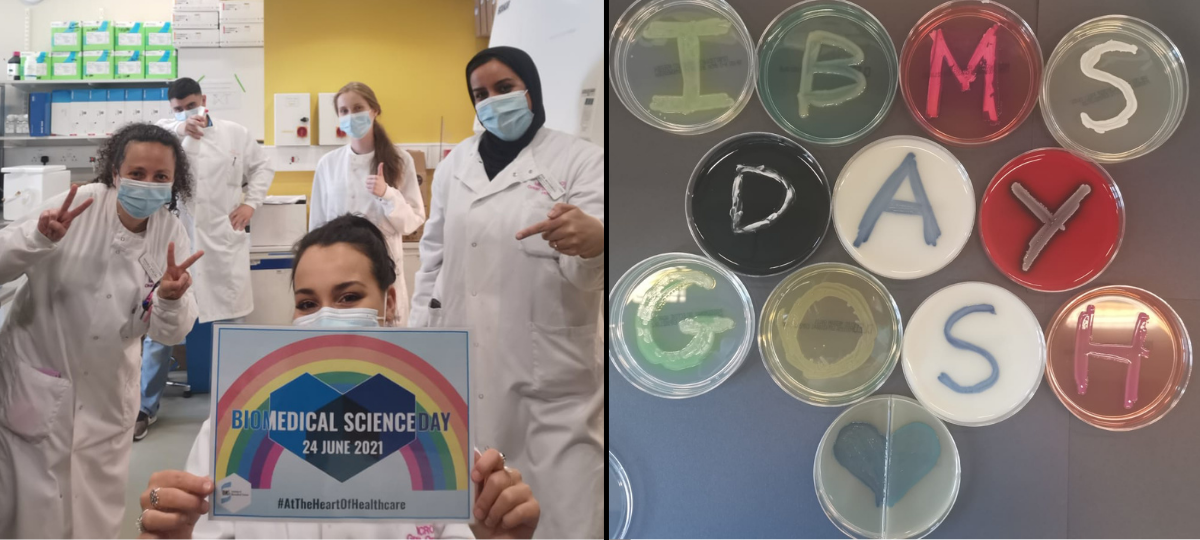 biomedical science day 2021 banner