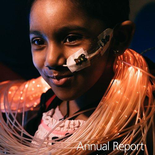 GOSH Annual Report 2018 front cover