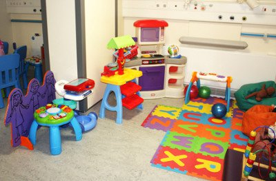 Puffin Ward play room - Puffin Ward pages