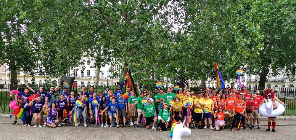 GOSH LGBT Forum at Pride 2019