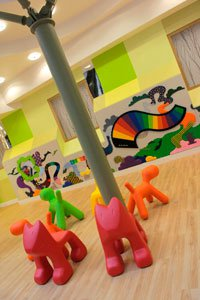 Somers Clinical Research Facility play toys