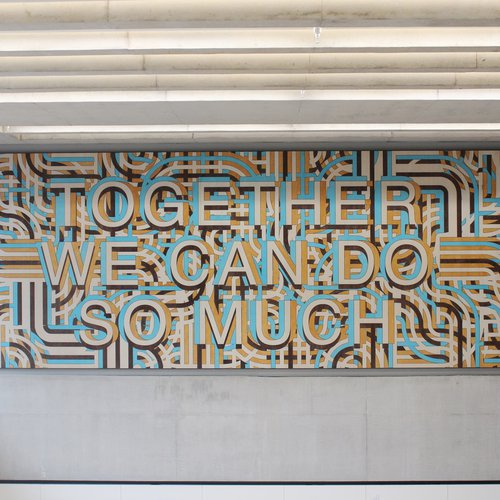 Together we can do so much by Mark Titchner